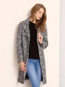 Kabát šedá XL