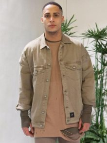 Bunda Oversized Jean khaki M