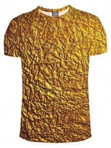 Tričko Gold barevné M
