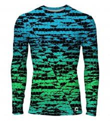 Tričko Rashguards Fractal barevné M