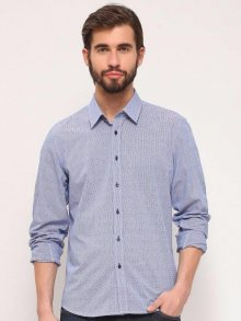 Košile modrá tmavá 44/45