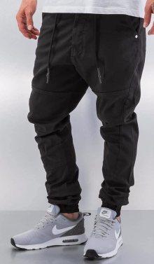 Kalhoty Börge Antifit černá 38