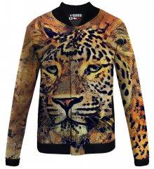 Baseballová bunda Aquarelle Leopard barevné L