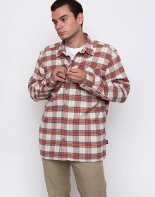 Patagonia Flannel Migration Plaid Small: Light Sesame L