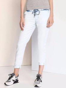 Kalhoty modrá světlá L