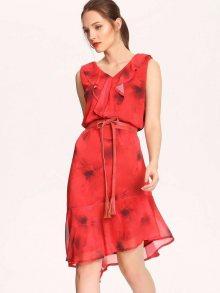 Šaty červená 34