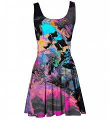 Šaty Ratik barevné XS