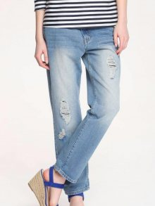 Kalhoty modrá 42