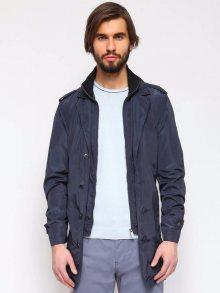Kabát modrá tmavá XL