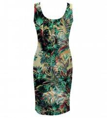 Šaty Tropical Jungle barevné L