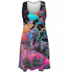 Šaty Ratik barevné M