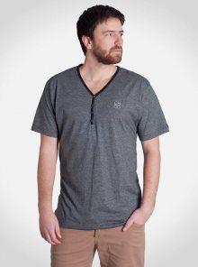 Tričko Wye Thin šedá tmavá M