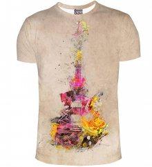 Tričko Guitar barevné M