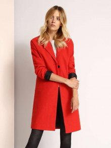 Kabát červená 38
