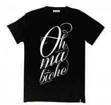 Tričko Oh Ma Biche černá S