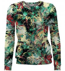 Women Fit Tropical Jungle barevné M