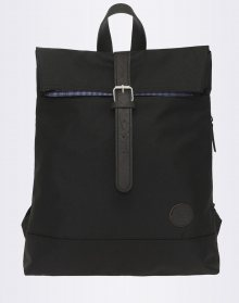 Enter Fold Top Black 16l