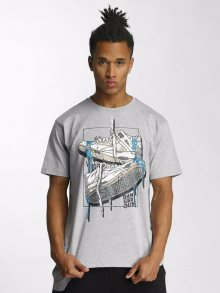 Tričko Sneaker šedá světlá S