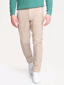 Kalhoty béžová 34