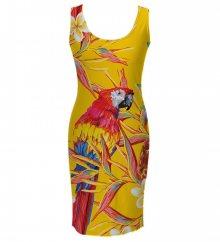 Šaty Parrots barevné L