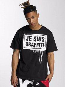 Tričko Je Suis černá M
