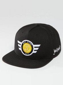Snapback S-Cap černá Standardní