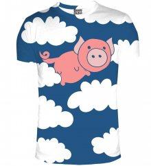 Tričko When Pigs Fly barevné M