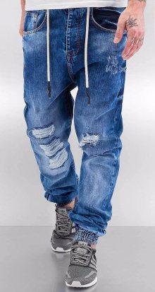 Džíny Luke modrá W30/L32