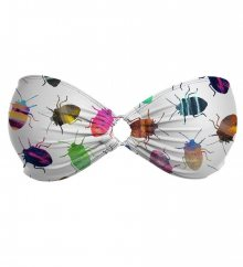 O-Wire Bandeau Top Colorful Cockroaches L