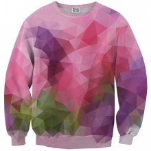 Svetr Violet Geometric barevné 3XL