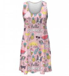 Šaty Hello Summer barevné M
