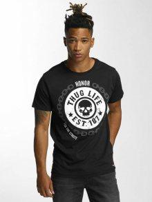 Tričko Barley černá S