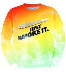 Svetr Just Smoke It barevné M