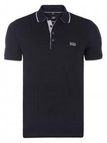 Černo-šedá luxusní polokošile od Hugo Boss Velikost: XL
