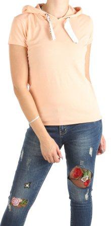 Dámské volné růžové tričko Eight2Nine