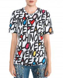 Triko Love Moschino | Bílá | Dámské | XS