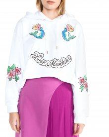 Mikina Love Moschino | Bílá | Dámské | XS