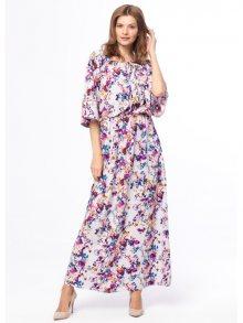 Kabelle Dámské šaty KB24_VIOLET_FLOWERS\n\n