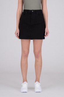 Denim Skirt Black Dr.Denim M