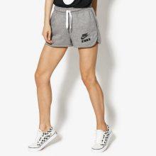 Nike Šortky W Nsw Short Ft Air Ženy Oblečení Kraťasy Aa1180-091 Ženy Oblečení Kraťasy Šedá US S