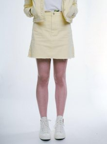Denim Skirt Yellow Urban Bliss M