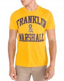 Triko Franklin & Marshall   Žlutá   Pánské   L
