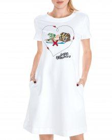 Šaty Love Moschino | Bílá | Dámské | XS
