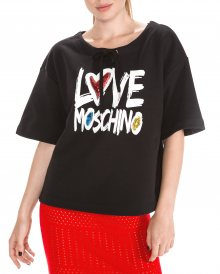 Mikina Love Moschino | Černá | Dámské | XS