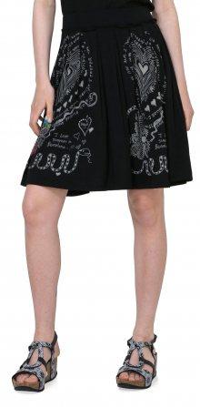 Desigual Dámská sukně 1003681_černá\n\n