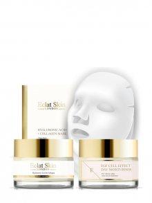 Eclat Skin Luxusní pleťová sada - anti-age a hydratační krém a 3 textilní masky 5302678862276\n\n