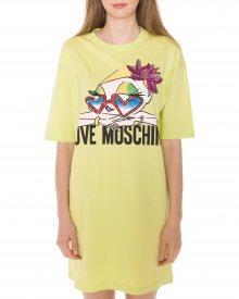 Šaty Love Moschino | Žlutá | Dámské | XXS