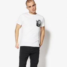 Confront Tričko Ss Contrast Muži Oblečení Trička Cf18Tsm70001 Muži Oblečení Trička Bílá US L