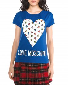 Triko Love Moschino | Modrá | Dámské | XS