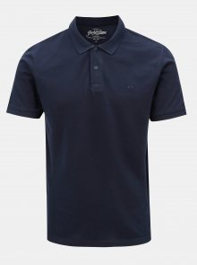 Modré polo tričko Jack & Jones